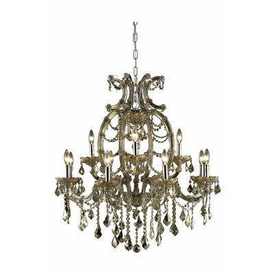 Regina 12-Light Crystal Chandelier