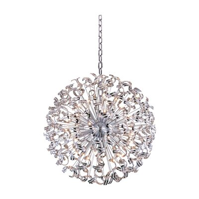 Thalassa 45-Light Sputnik Chandelier