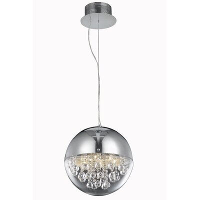 Apollo 6-Light Crystal Chandelier