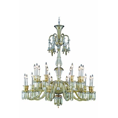 Leonardo 24-Light Crystal Chandelier