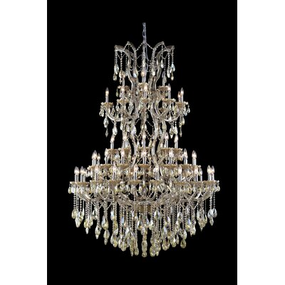Regina 61-Light Royal Cut Crystal Chandelier