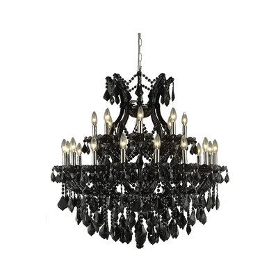 Maria Theresa 24-Light Crystal Chandelier