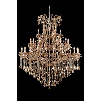 Regina Traditional 49-Light Crystal Chandelier