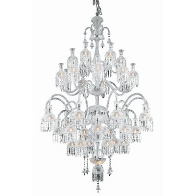 Leonardo 42-Light Crystal Chandelier