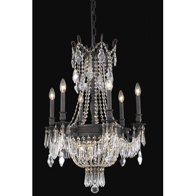 Ursula 9-Light Chain Crystal Chandelier Crystal Grade: Elegant Cut