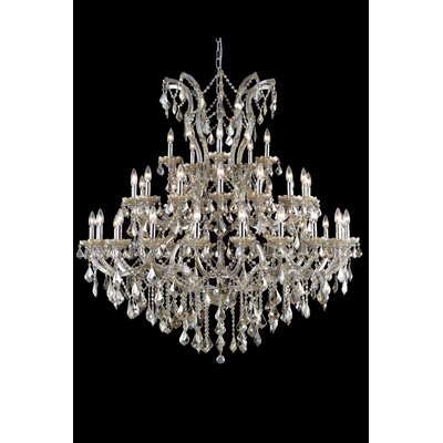 Regina 41-Light Royal Cut Crystal Chandelier