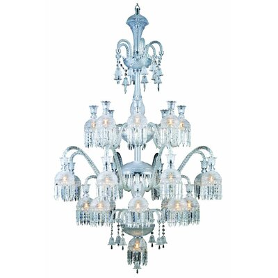 Leonardo 19-Light Crystal Chandelier