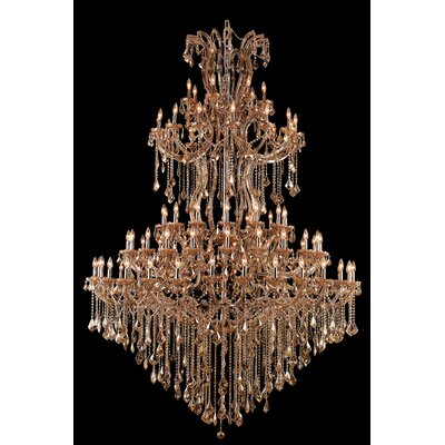 Regina 85-Light Royal Cut Crystal Chandelier
