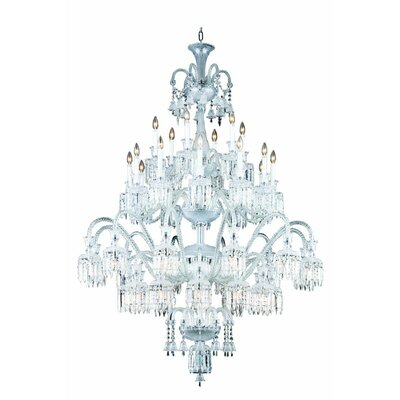 Leonardo Traditional 42-Light Crystal Chandelier