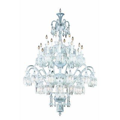 Leonardo Traditional 42-Light Crystal Chandelier
