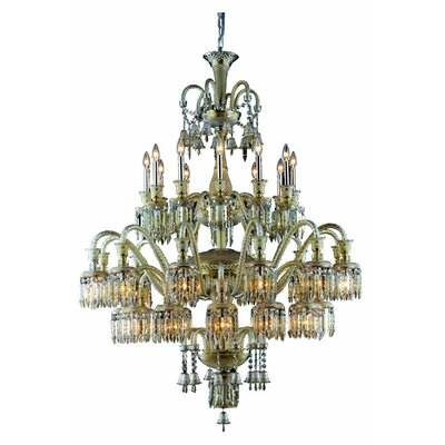 Leonardo 36-Light Crystal Chandelier
