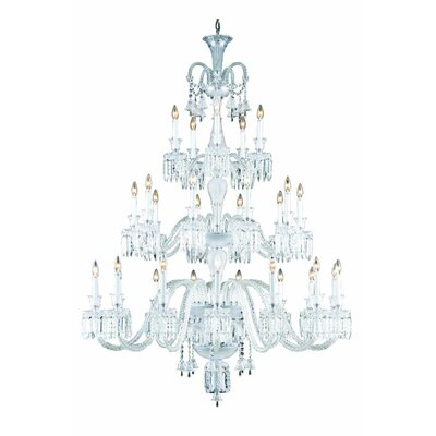 Leonardo 30-Light Crystal Chandelier