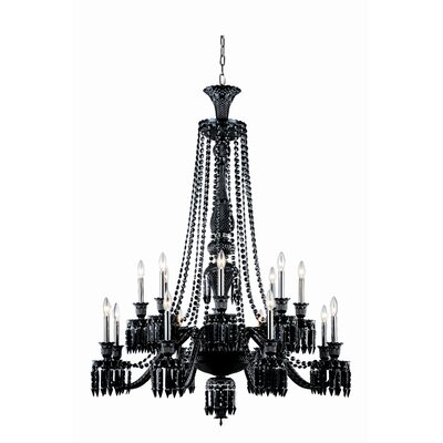 Leonardo Traditional 16-Light Crystal Chandelier