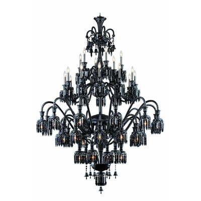 Leonardo Traditional 48-Light Crystal Chandelier
