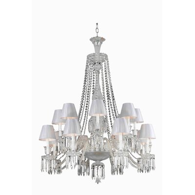 Majestic 16-Light Crystal Chandelier
