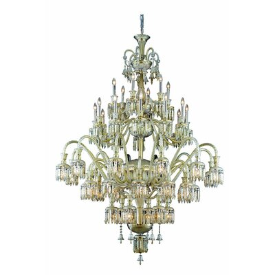 Leonardo 48-Light Crystal Chandelier