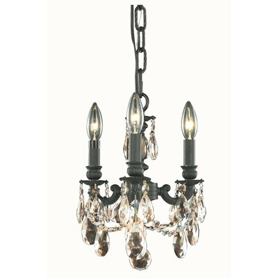 Ranae 3-Light Candle-Style Chandelier