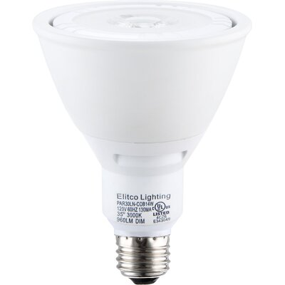 E26/Medium LED Light Bulb Wattage: 14W, Bulb Temperature: 4100K