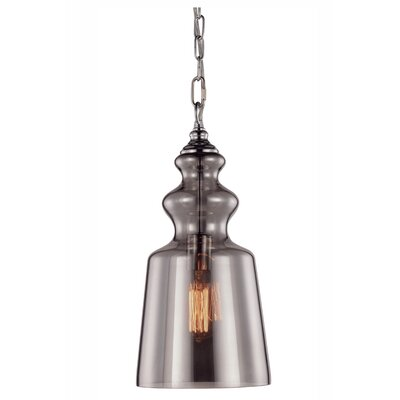 Champlain 1-Light Mini Pendant Finish: Silver
