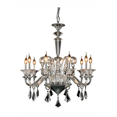 Ola 10-Light Crystal Chandelier