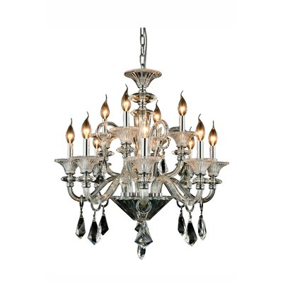 Ola 12-Light Candle-Style Chandelier