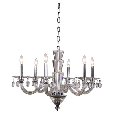 Augusta 6-Light Candle-Style Chandelier