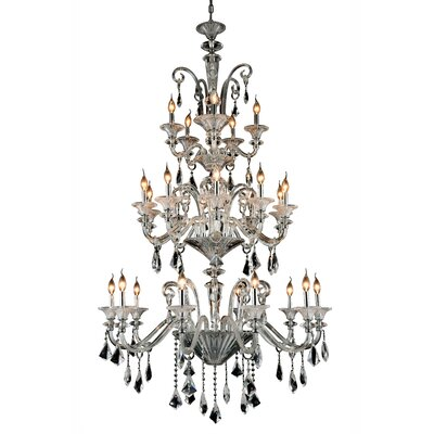 Ola 25-Light Crystal Chandelier