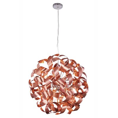 Hamal 9-Light Globe Pendant