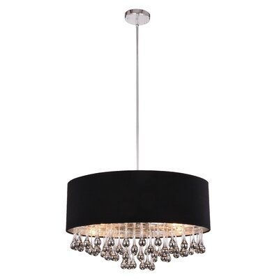 Ephialtes 6-Light Drum Chandelier