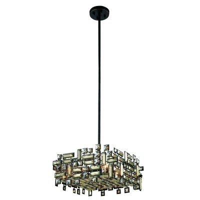 Picasso 4-Light Pendant Finish: Chrome