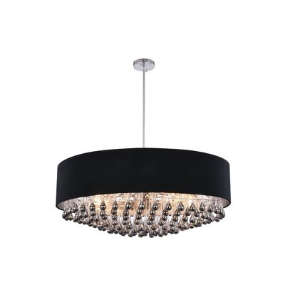 Ephialtes 9-Light Drum Chandelier