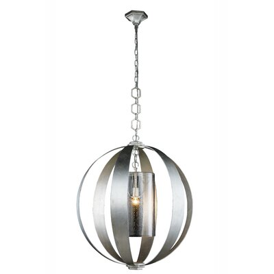 Damiane 1-Light Globe Pendant Finish: Vintage Bronze