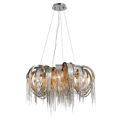 Veta 5-Light Waterfall Chandelier