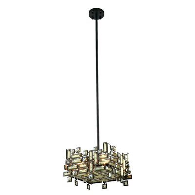 Nancee 4-Light Pendant Finish: Dark Bronze