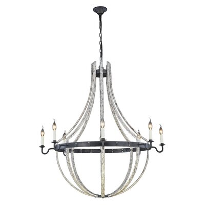 Karteek 8 Llight Candle-Style Chandelier