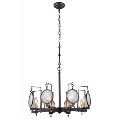 Twilight 8-Light Candle-Style Chandelier