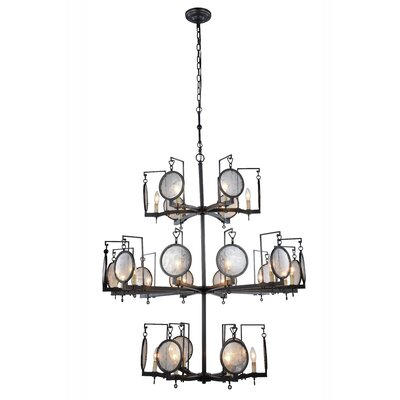 Hattie 24-Light Candle-Style Chandelier