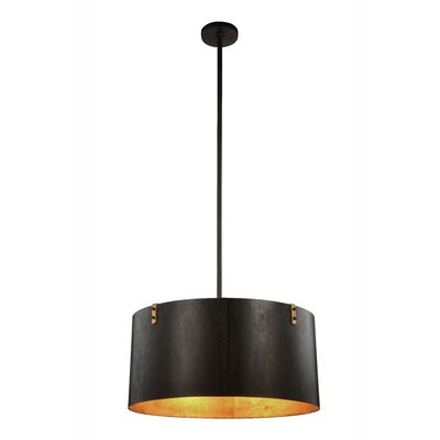 Stansel 4-Light Drum Pendant