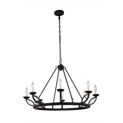 Tyson 8-Light Candle-Style Chandelier