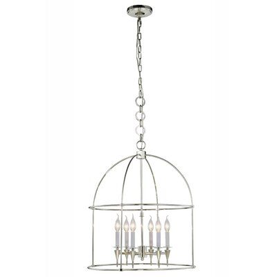 Paul 6-Light Foyer Pendant Finish: Polished Nickel
