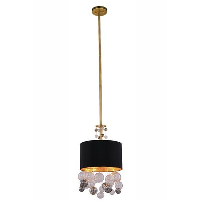 Milan 2-Light Drum Pendant Finish: Vintage Nickel