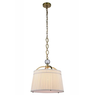 Sharonda 1-Light Mini Pendant Finish: Burnished Brass