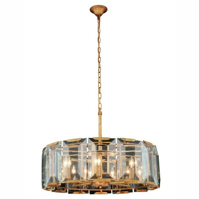 Tallman 8-Light Drum Pendant