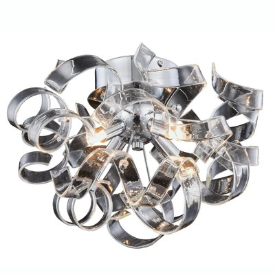 Maroneia 4-Light Flush Mount