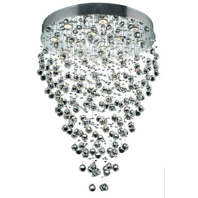 Deidamia 12-Light Crystal Chandelier Crystal Trim: Strass Swarovski
