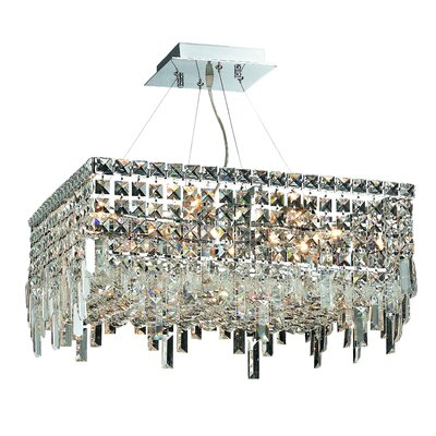 Maxim 12-Light Crystal Chandelier Size / Crystal Trim: 32 / Royal Cut