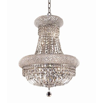 Jessenia 14-Light Empire Chandelier Size / Finish / Crystal Trim: 28 / Gold / Elegant Cut