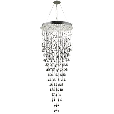 Deidamia 16-Light Crystal Chandelier Crystal Trim: Elegant Cut