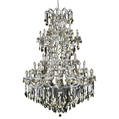 Maria Theresa 61 Light  Chandelier Finish / Crystal Color / Crystal Trim: Gold / Crystal (Clear) / Strass Swarovski
