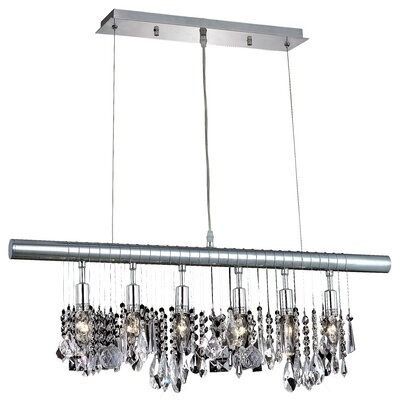 Chorus Line 6-Light Kitchen Island Pendant